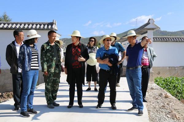[剑川县]上海浦东新区泥城镇、书院镇党政代表团到我县开展东西部结对帮扶活动